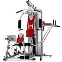 BH Fitness Global Gym Titanium G152X, Multistazione di allenamento con leg press, flessore addominale e barra trazioni