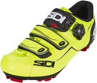 Sidi Trace MTB - Scarpe da ciclismo, colore: Giallo fluo/Nero, Uomo, 38 EUR [US 5]