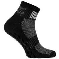 Rainbow Socks - Donna Uomo Sportive Calze Antiscivolo ABS di Cotone - 1 Paia - Negro - Tamaño 42-43