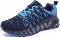 SOLLOMENSI Scarpe da Ginnastica Uomo Donna Scarpe per Correre Running Corsa Sportive Sneakers Trail Trekking Fitness Casual 44 EU H Azul