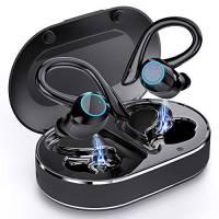 Cuffie Bluetooth 5.1, Andfive Auricolari Bluetooth Senza Fili con Mic, Cuffie Wireless Sport, Bassi Potenziati, Cuffie In-Ear Bluetooth, USB-C, IP7 Impermeabile, 40 Ore di riproduzione [Aggiornato]