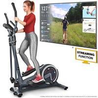 Sportstech Cyclette Ellittica CX625 Compatibile con App Smartphone, volano da 24 kg, Allenamento con 22 programmi Diversi e con Funzione HRC - Porta Tablet, Interfaccia Multifunzionale