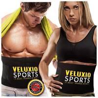 Veluxio Esclusiva Fascia Addominale Dimagrante Snellente per Uomo e Donna